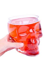 Dödskalle, dricksglas