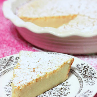 Gluten Free Lemon Blender Pie