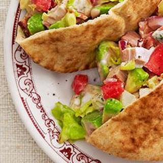 Turkey-Cobb Sandwiches.