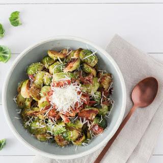 Prosciutto Parmesan Brussels Sprouts Recipe