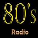 80's Radio - Online icon