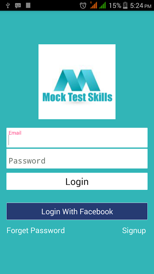 Mock Test Skills- screenshot