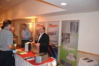 Photo: Gas-fired HVAC units presented by Michel Andre Lamarche from Bousquet Technologies