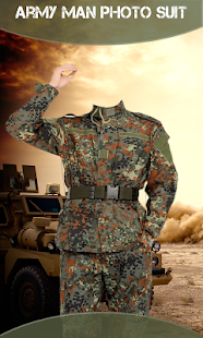 Army Men Photo Suit - náhled