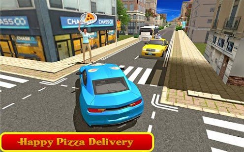 Classic Car Pizza Delivery screenshot