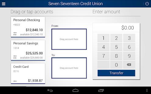 Seven Seventeen Credit Union- screenshot thumbnail