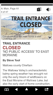 Wallowa County Chieftain- screenshot thumbnail