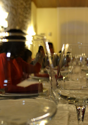 Cena di vetro di lopicchio