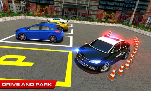 Real Police Car Parking Game Free Simulator 2017 - náhled