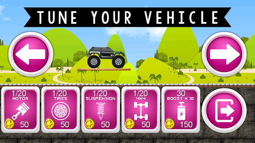 Monster Truck Hero apk mod screenshots 2