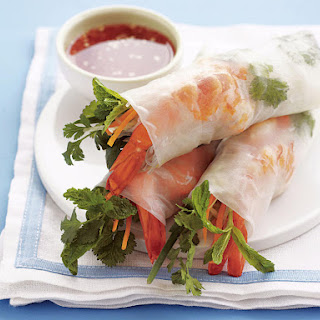 Shrimp Summer Rolls.