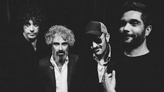Integrantes de la banda León Benavente.