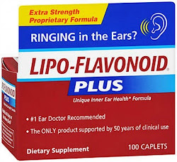 Lipo-Flavonoid Plus Ear Health Dietary Supplement - 100 Caplets