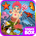 Baby Prince Mermaid Care Game mobile app icon