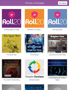 Roll20 for Android- screenshot thumbnail