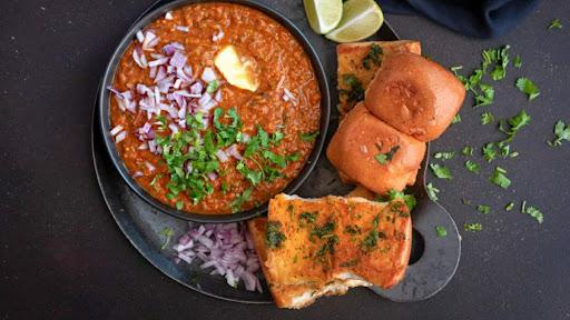 Pav Bhaji In Butter [2 Pav] image