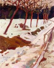 "Photo: Egon Schiele, ""Neve"" (1908)"