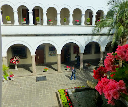 Photo: View of courtyard