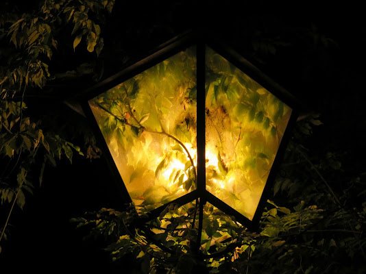 Un lampione ecologico di Giorgio Lucca
