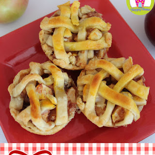 Mini Lattice Apple Pies