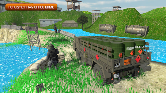 Army Truck Driving 2020: Cargo Transport Game 1.1 Latest MOD APK 2
