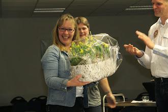 Photo: Afscheid van Gerta na 10 jaar bestuur.