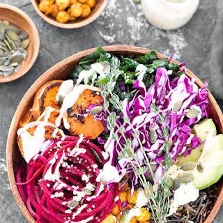 Nourishing Vegan Buddha Bowl.