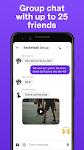 screenshot of TextNow: Free Texting & Calling App