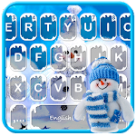 Blue Christmas Keyboard Theme Icon
