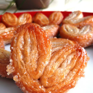 Sweet and Crunchy Cinnamon Palmiers.
