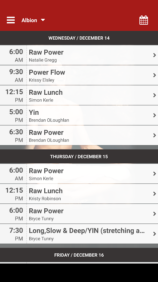 Raw Power Yoga Brisbane- screenshot