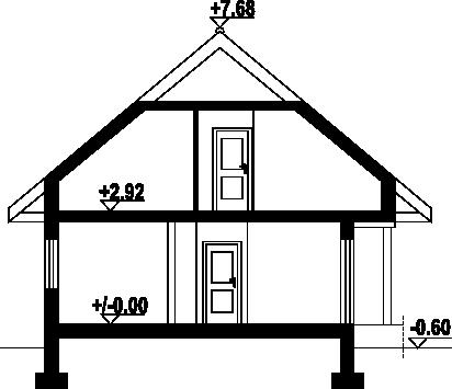 Czarkowo dws - Przekrój
