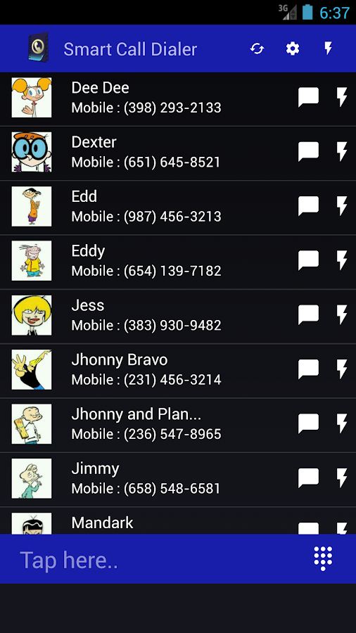 Smart Call Dialer- screenshot