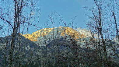 Photo: Hladno jutro u Suhadolniku pod barijerom Kočni...
