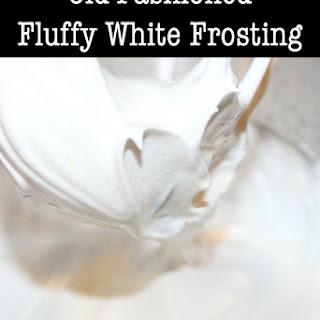 Fluffy White Frosting.
