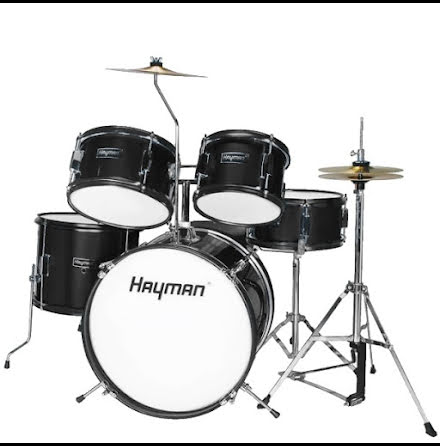 Hayman Barntrumset - HM-50-BK - Svart