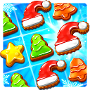 Christmas Cookie - Fun Match 3 mobile app icon