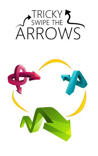 Tricky Swipe The Arrows: Magic