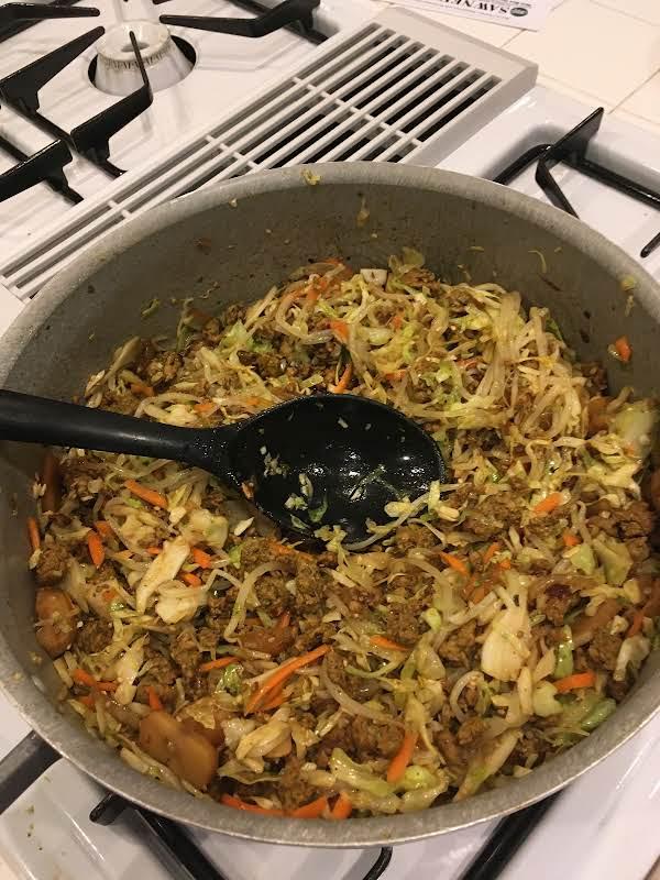 Thai Chicken Egg Roll Stir Fry