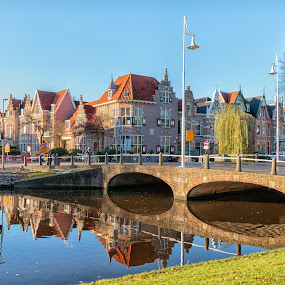 Bridge in Alkmaar by Cora Lea - Buildings & Architecture Bridges & Suspended Structures