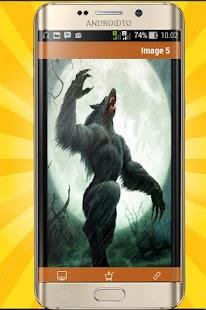 Werewolf Wallpaper 8K - náhled