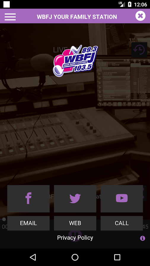 WBFJ-FM- screenshot