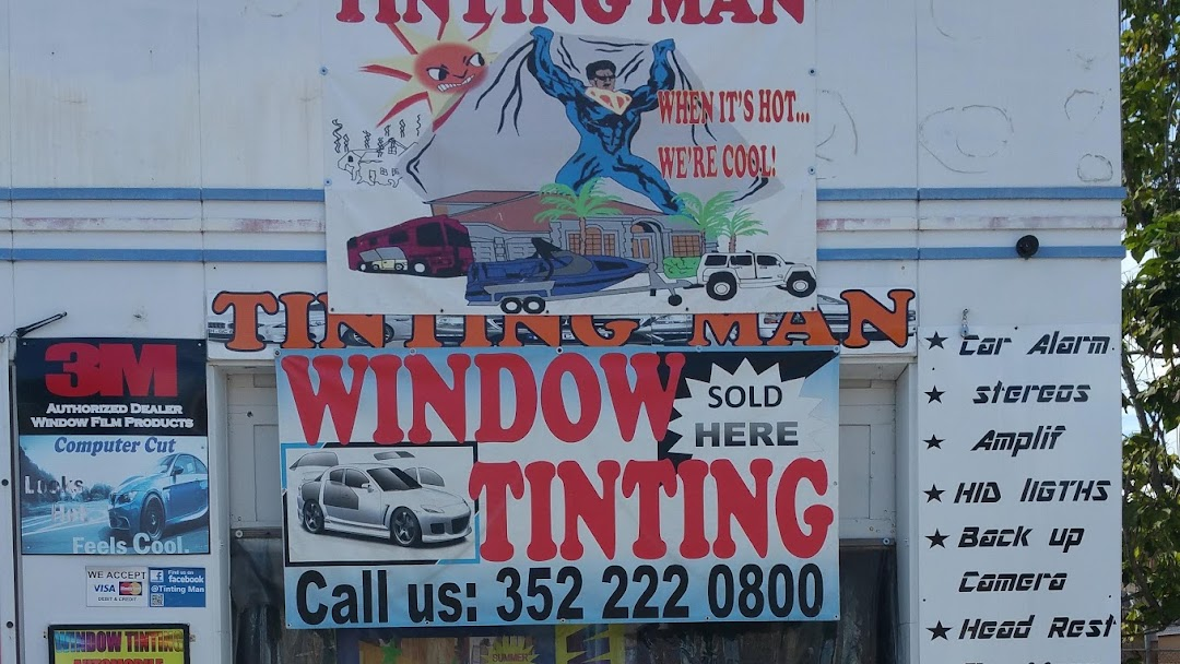 Tinting Man Window Tinting Service In Live Oak