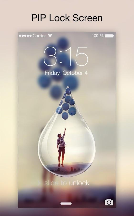 Screenshots of Lock Screen & AppLock Security for iPhone