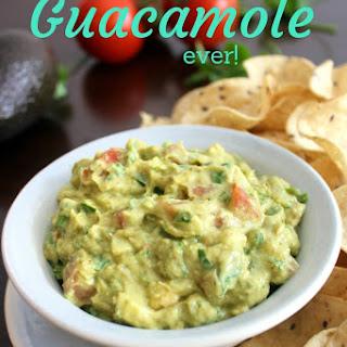 The Most Delicious Guacamole EVER