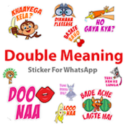 Double Meaning Sticker For Whatsapp