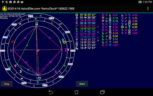 Astro Clock + screenshot