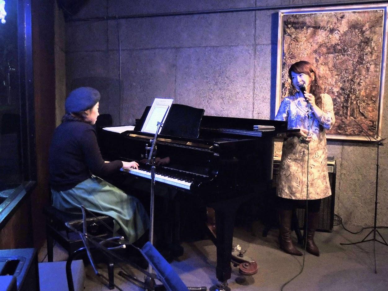 Kaoru Azuma (pf) and Jun Izumi (vo)