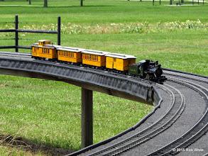Photo: Bill Courtright's Narrow Gauge train     HALS Public Run Day 2015-0516 RPW