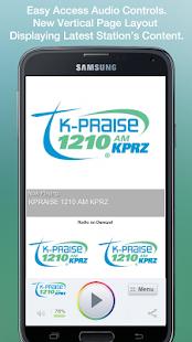 KPRAISE 1210 AM KPRZ - screenshot thumbnail
